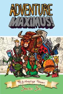 Adventure Maximus (T.O.S.) -  Eden Studios